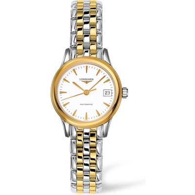 Longines Flagship Automatic Bracelet Watch, 2m