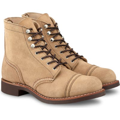 Red Wing Iron Ranger Boot, Beige