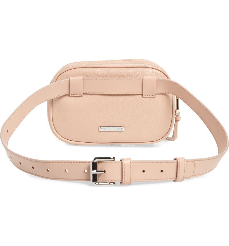 Blythe Leather Belt Bag, Alternate, color, DOE