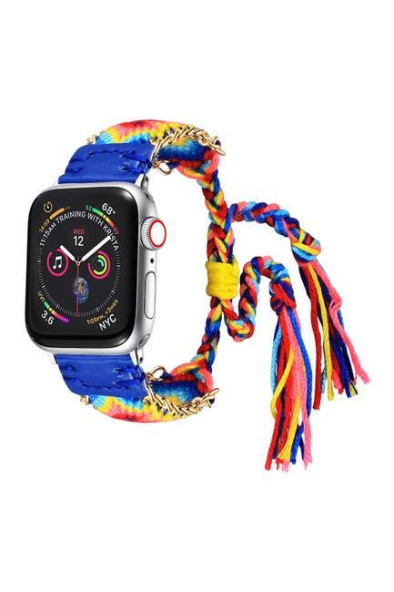 Image of POSH TECH Friendship Bracelet Band for Apple Watch - 38mm/40mm