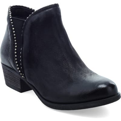 Miz Mooz Barrett Studded Western Bootie - Black