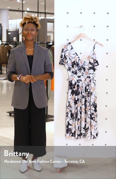 Claudia Asymmetrical Ruffle Cocktail Dress, sales video thumbnail
