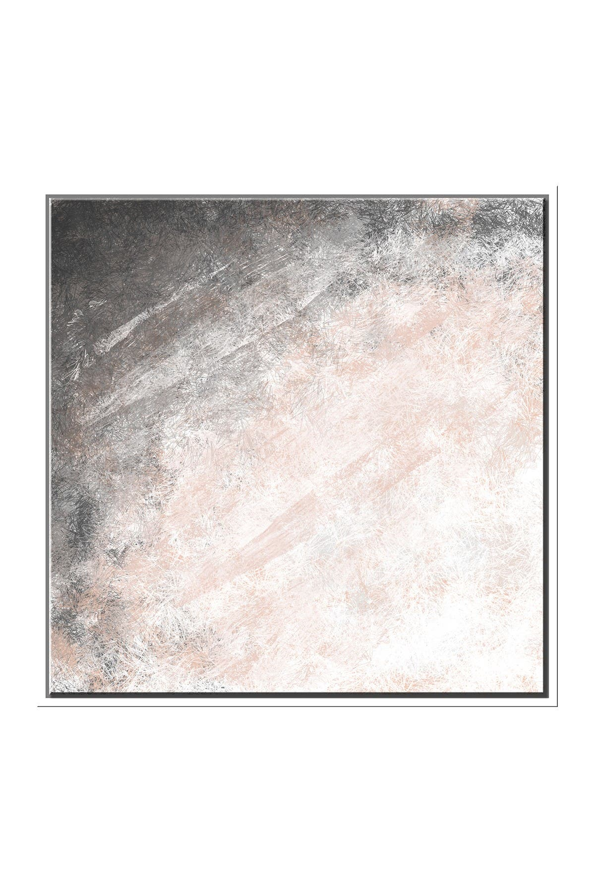 Image of PTM Images Blush Swath Canvas with Floater Frame