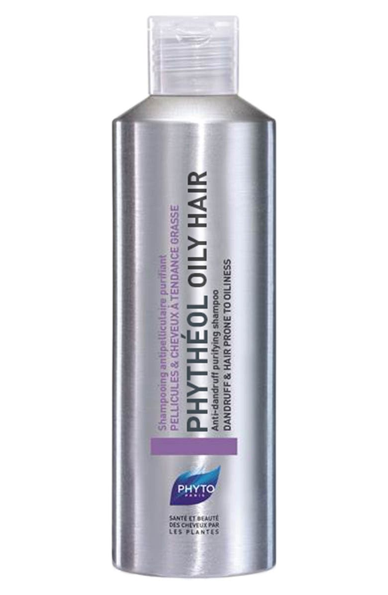 PHYTO Phythéol Oily Hair Anti-Dandruff Purifying Shampoo, Main, color, 000