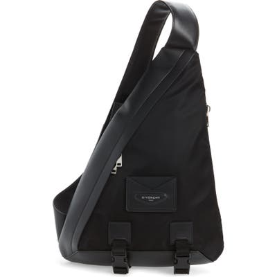 Givenchy Triangle Backpack - Black