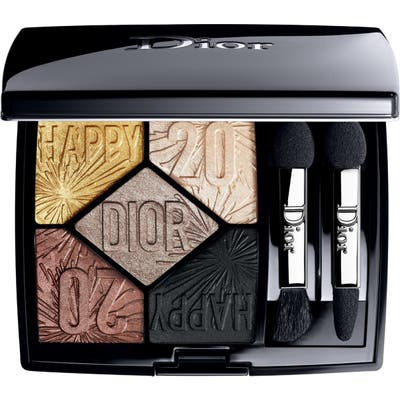 Dior Happy 2020 5 Couleurs Eyeshadow Palette - 017 Celebrate In Gold
