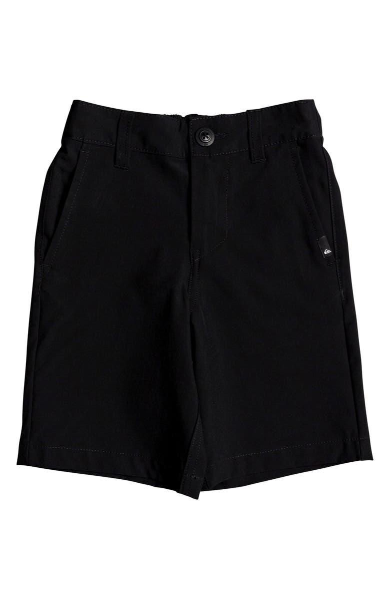 QUIKSILVER Union Amphibian Hybrid Shorts, Main, color, BLACK