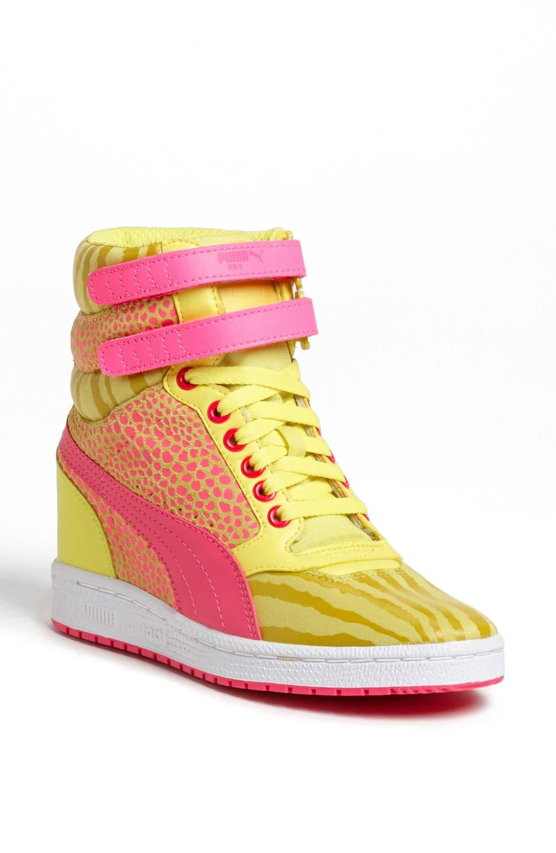 ,                             'Sky Wedge Reptile' Sneaker,                             Main thumbnail 13, color,                             750