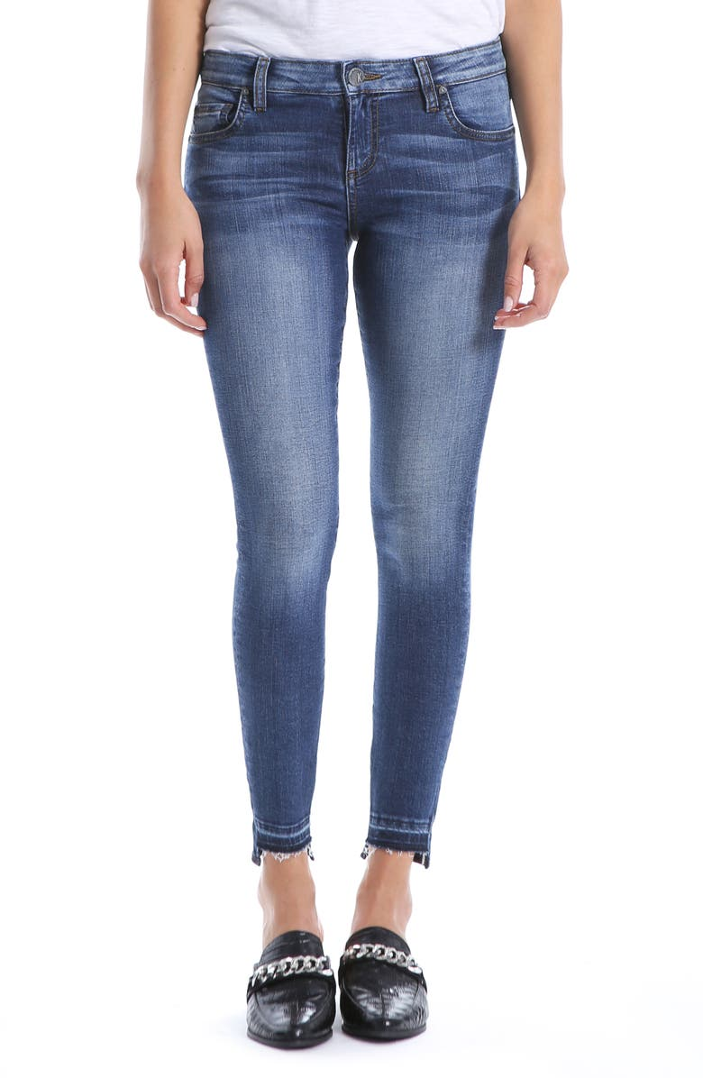 KUT FROM THE KLOTH Connie Ankle Skinny Jeans, Main, color, 451