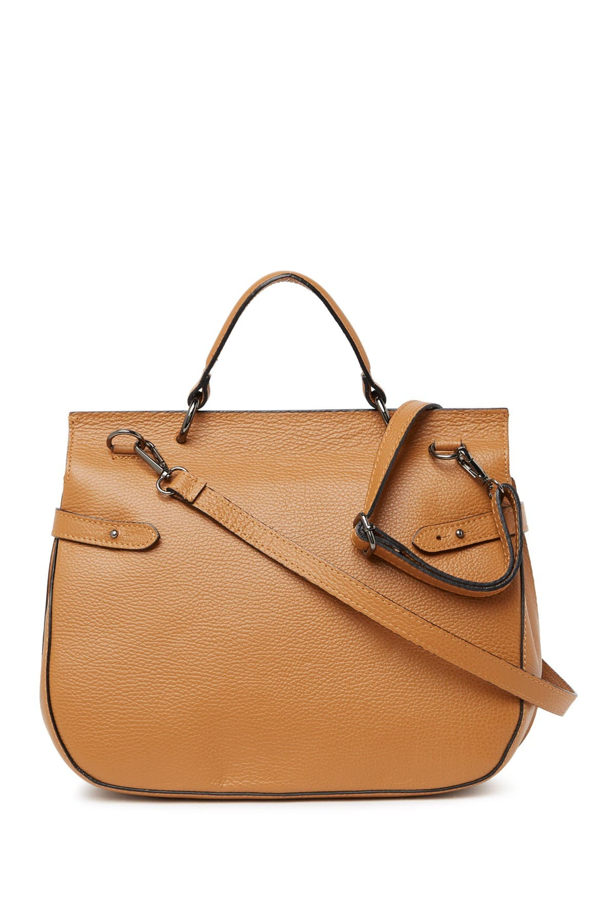 Image of Renata Corsi Leather Satchel Bag