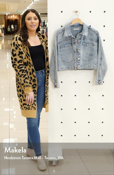 Alice Crop Denim Jacket, sales video thumbnail
