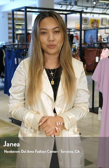 Terzetto Wool & Mohair Blend Bouclé Coat, sales video thumbnail
