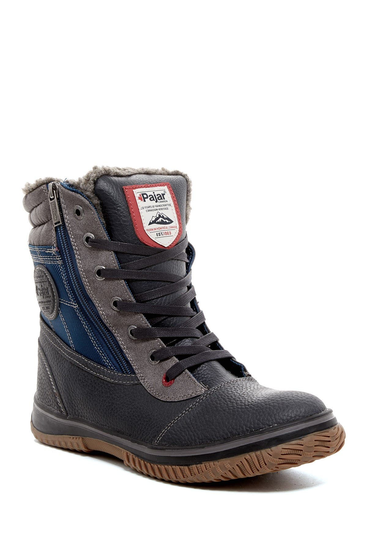 Image of Pajar Tour Faux Shearling Lined Waterproof Boot