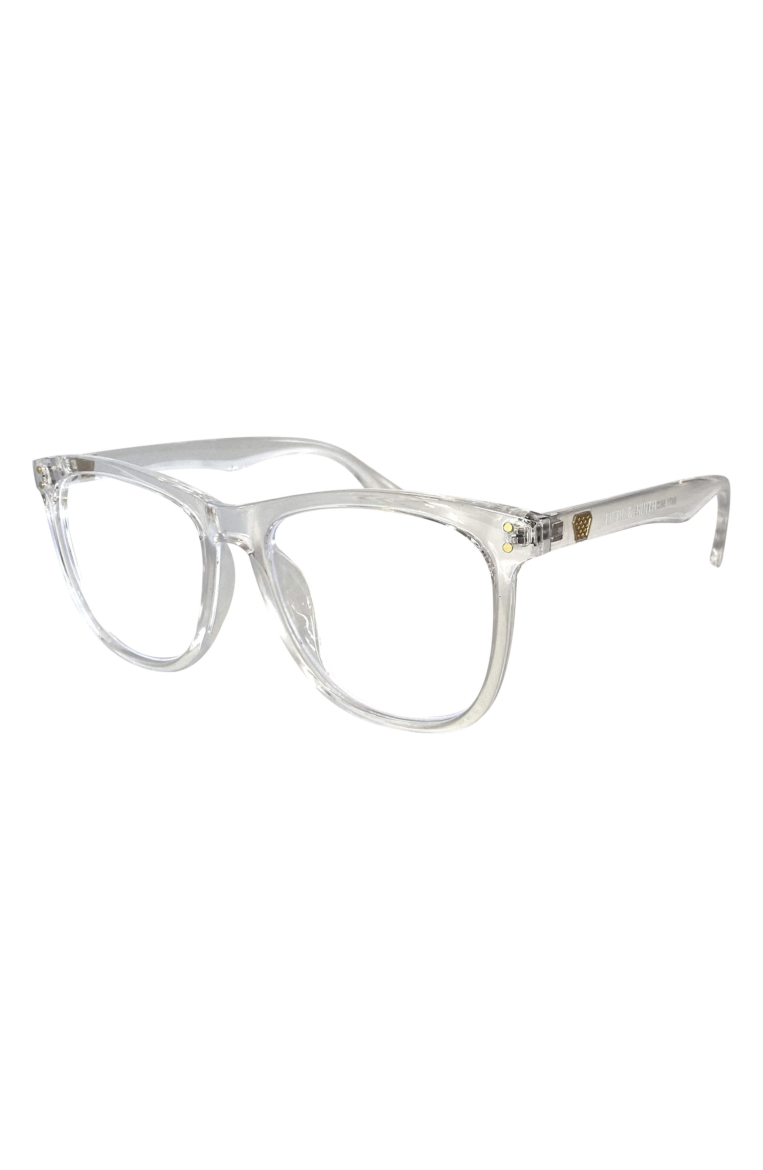 Mesa 56mm Round Blue Light Filtering Glasses