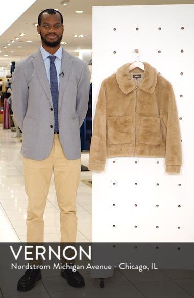 Teddy Faux Fur Jacket, sales video thumbnail