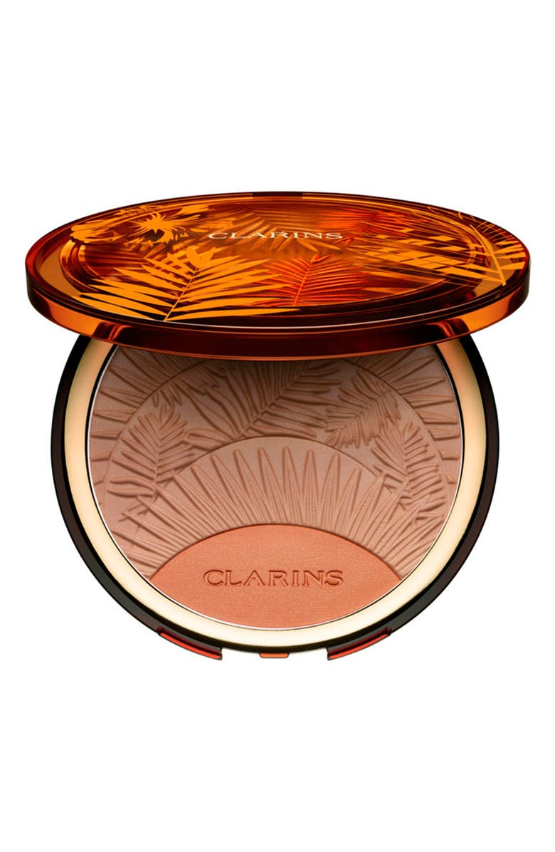CLARINS Sunkissed Bronzing & Blush Compact, Main, color, 200