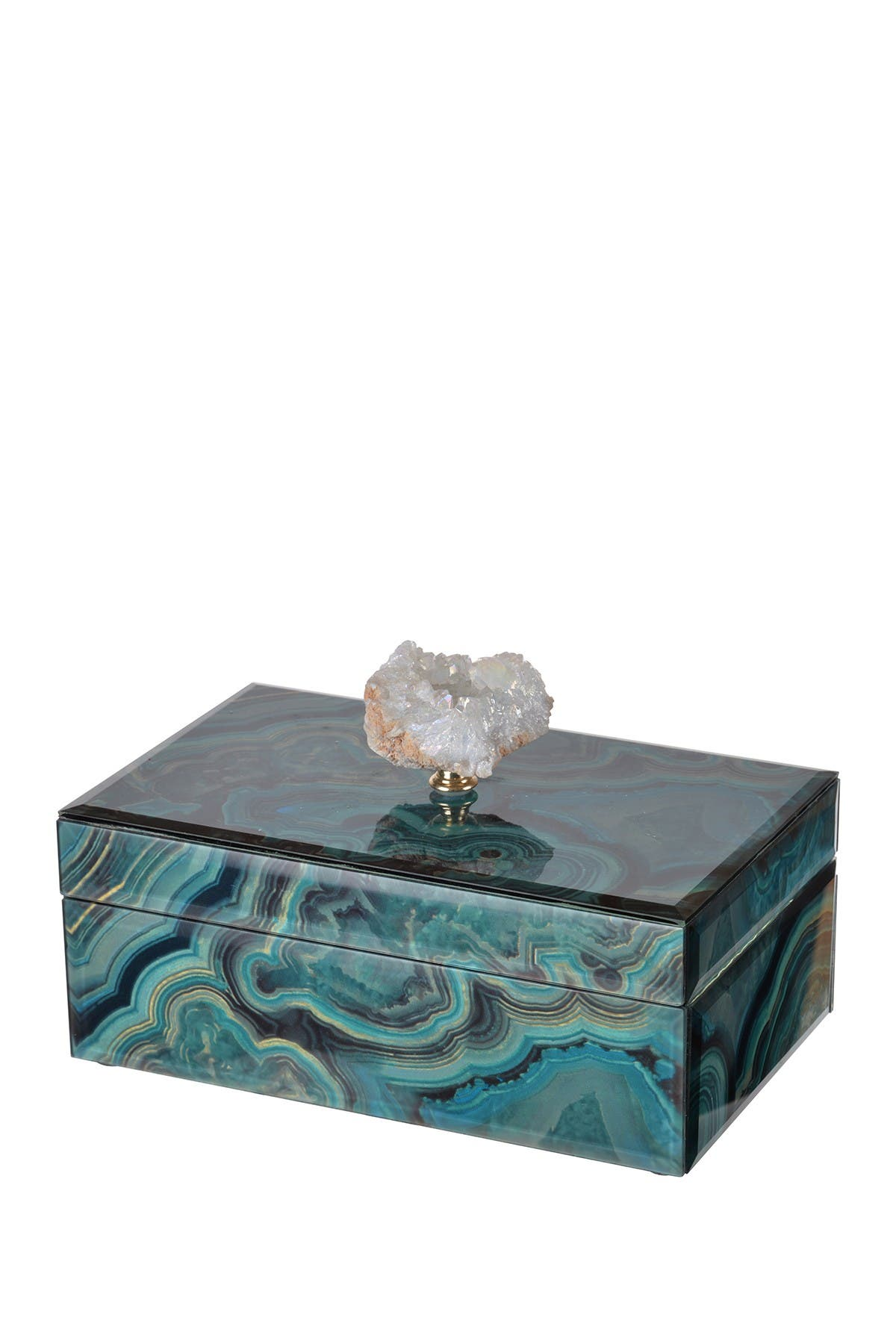 Image of R16 HOME Bethany Marble Jewelry Box
