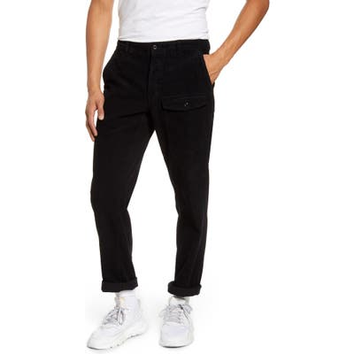 Saturdays Nyc Corduroy Cargo Pants, Black