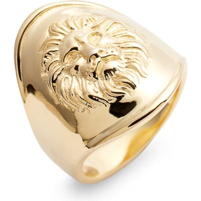 Argento Vivo Leon Ring