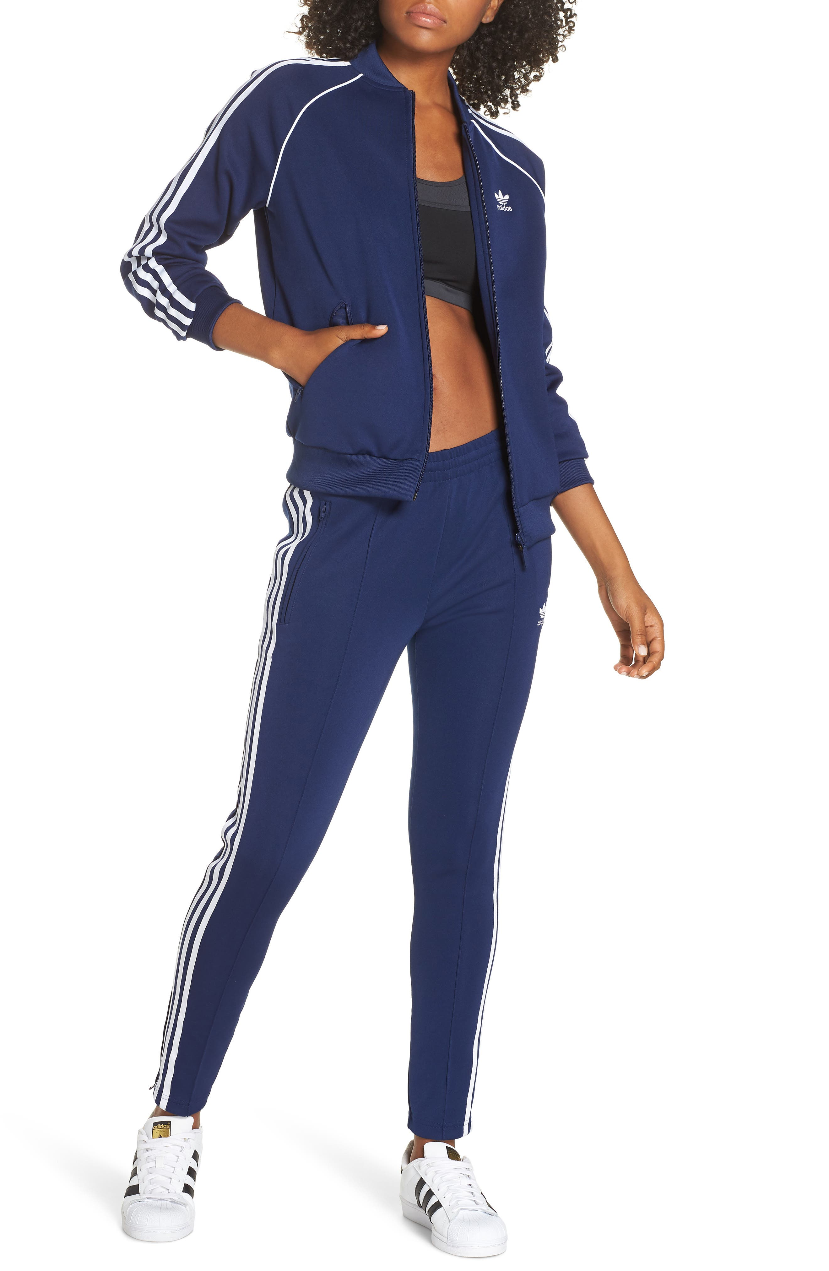 ,                             adidas SST Track Pants,                             Alternate thumbnail 64, color,                             415