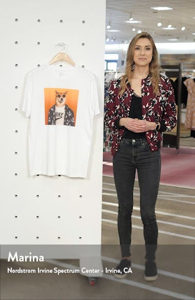 Sportswear Graphic Dog T-Shirt, sales video thumbnail