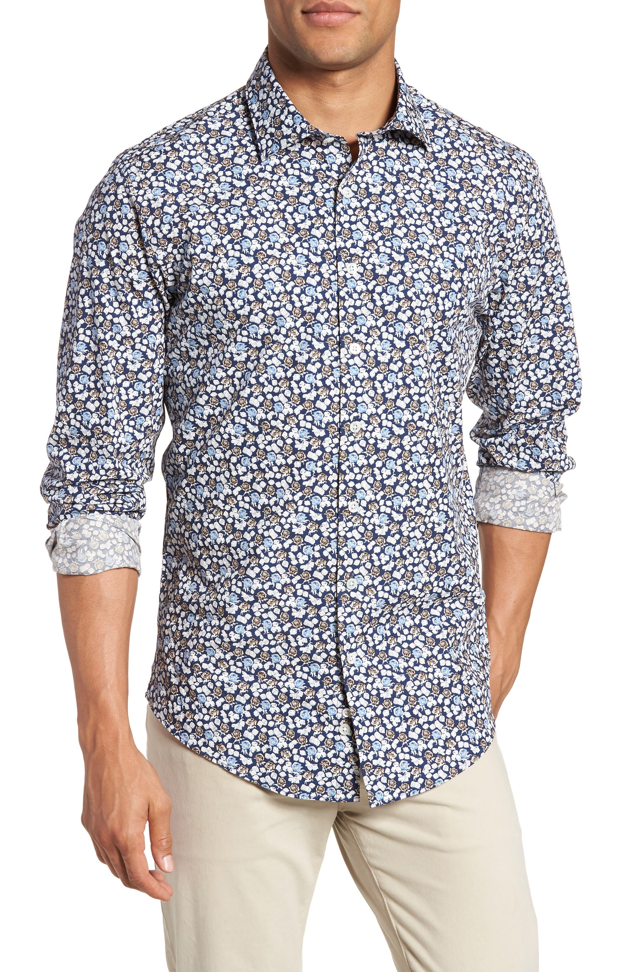 Image of RODD AND GUNN Donoghues Regular Fit Sport Shirt