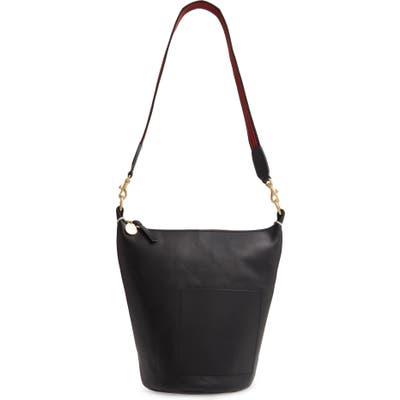 Clare V. Petite Jean Leather Bucket Bag - Black