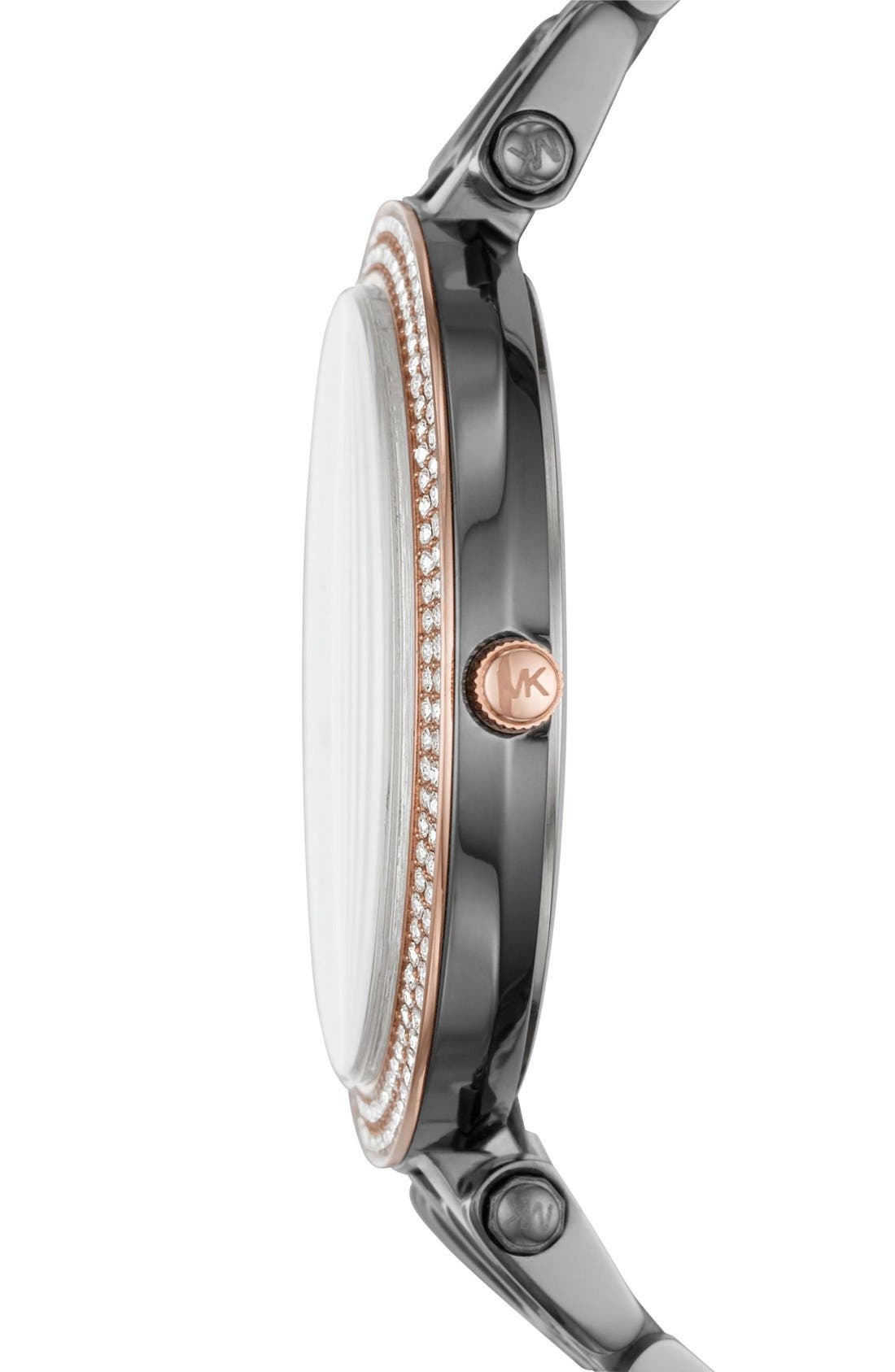 ,                             'Darci' Round Bracelet Watch, 39mm,                             Alternate thumbnail 5, color,                             020