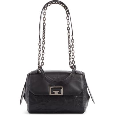 Givenchy Small Id Pepe Leather Top Handle Bag - Black