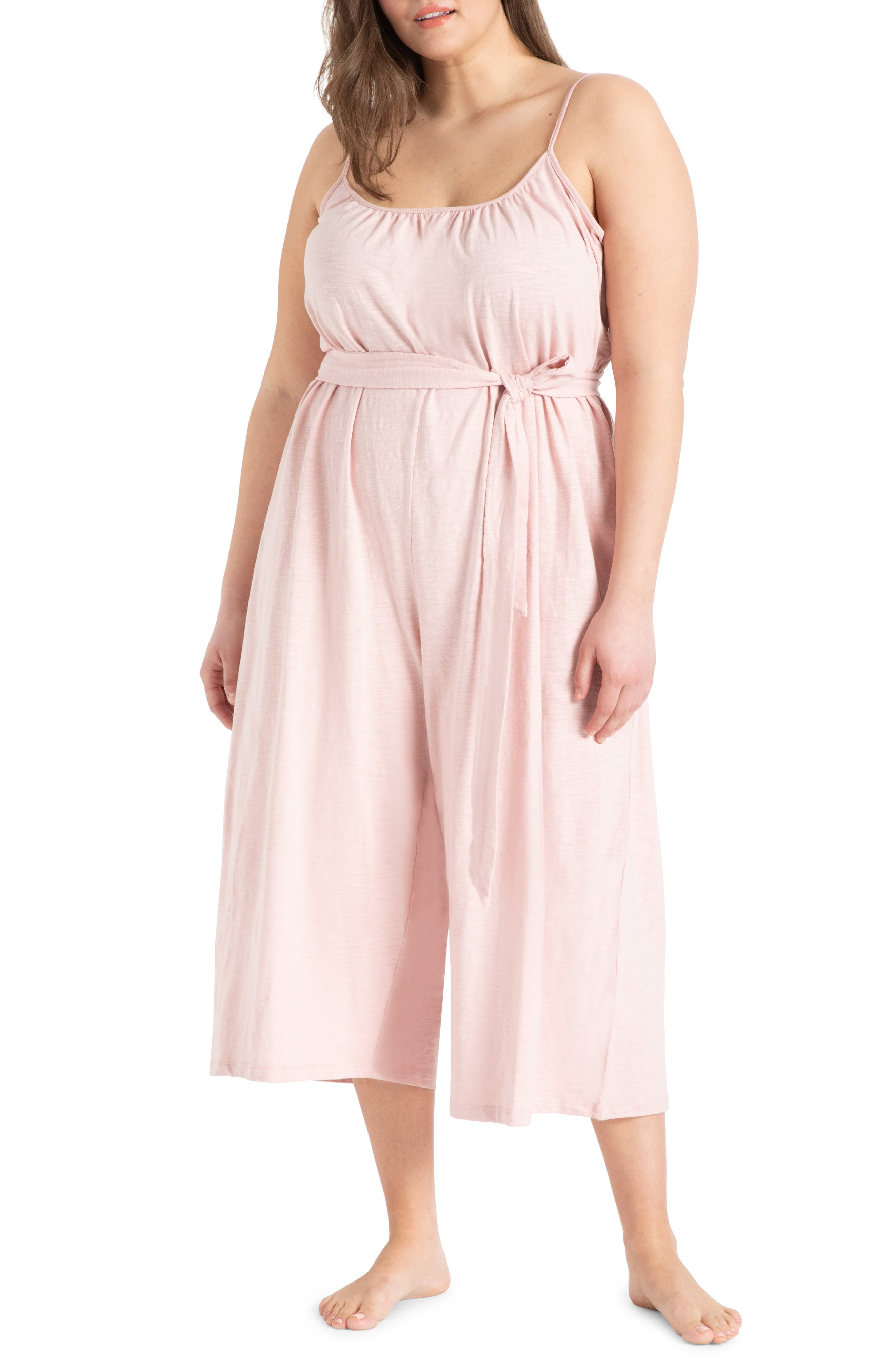 Easy Tank Cropped Jumpsuit