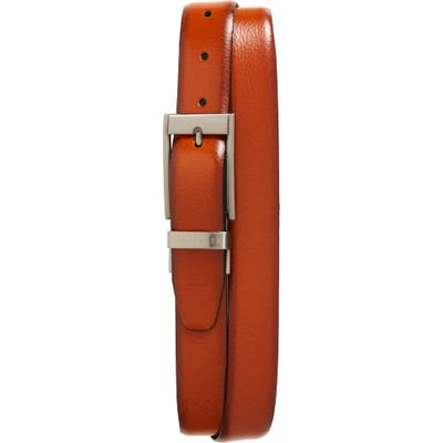 Ted Baker London Estrage Reversible Leather Belt, X Brown Chocolate