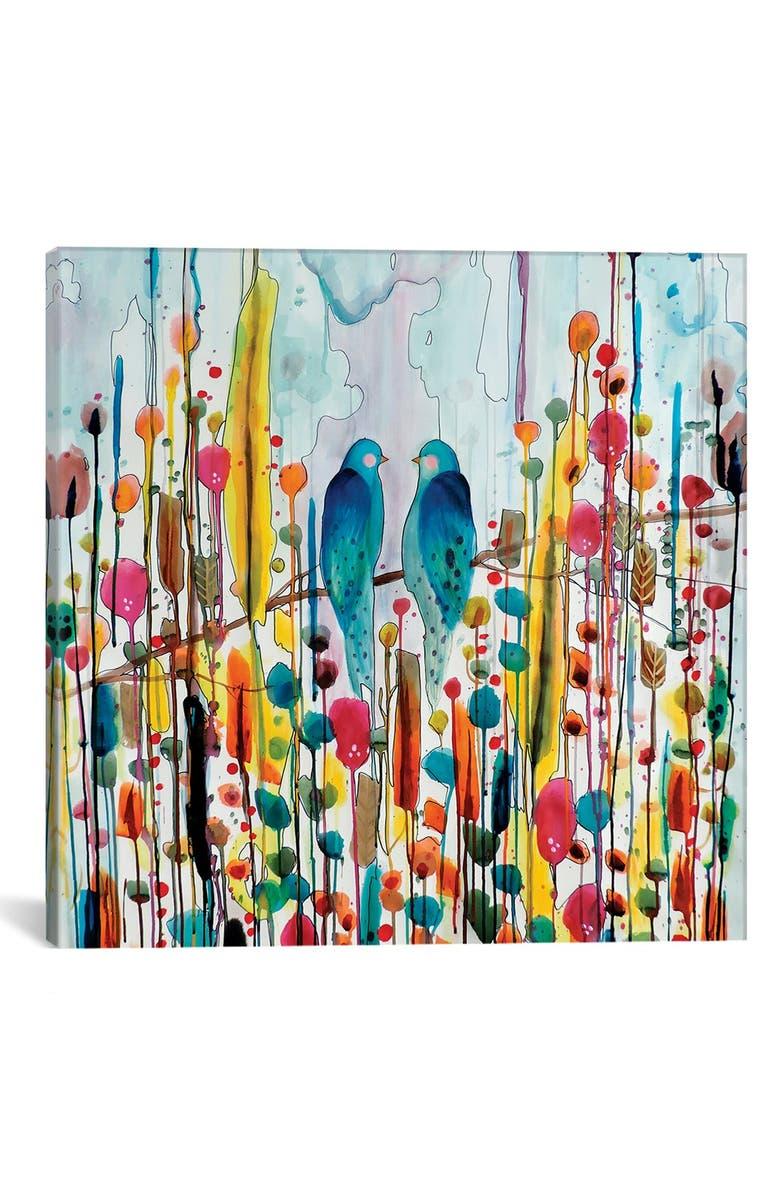 ICANVAS 'We Canvas' Giclée Print Canvas Art, Main, color, BLUE