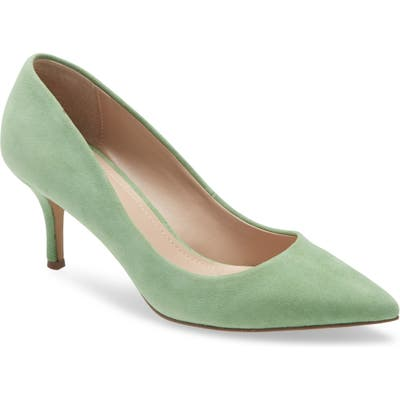 Charles By Charles David Addie Pump, Green
