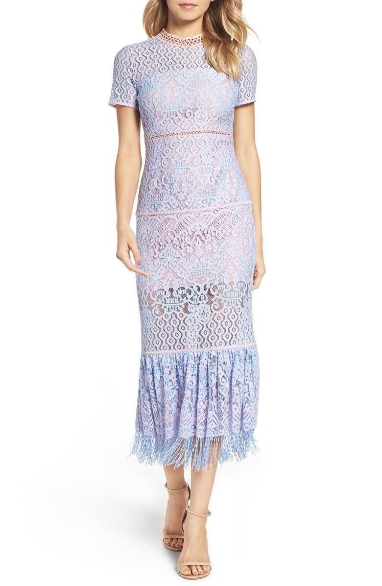 Flourite Crochet Maxi Dress