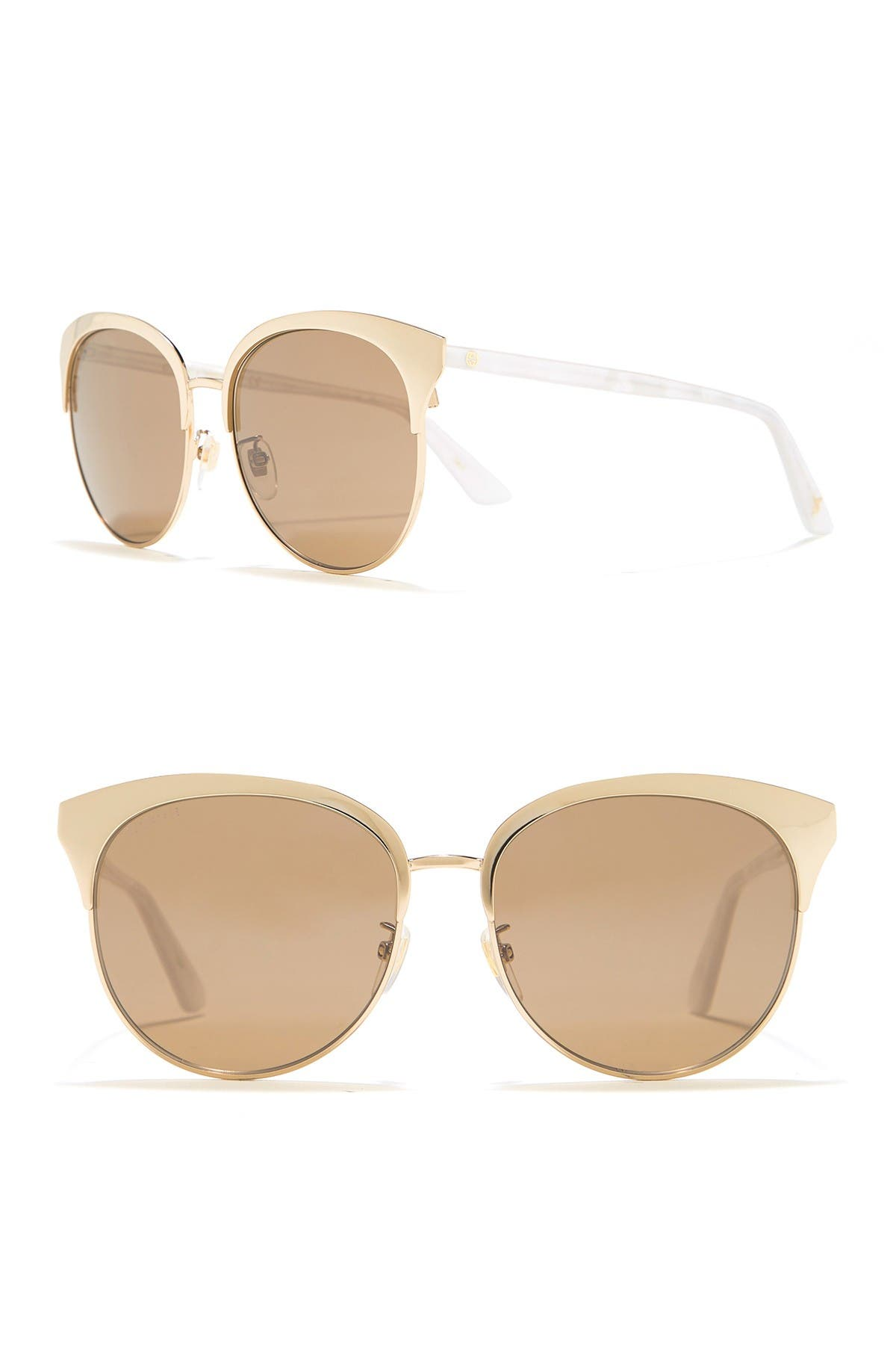 Image of GUCCI 57mmm Clubmaster Sunglasses