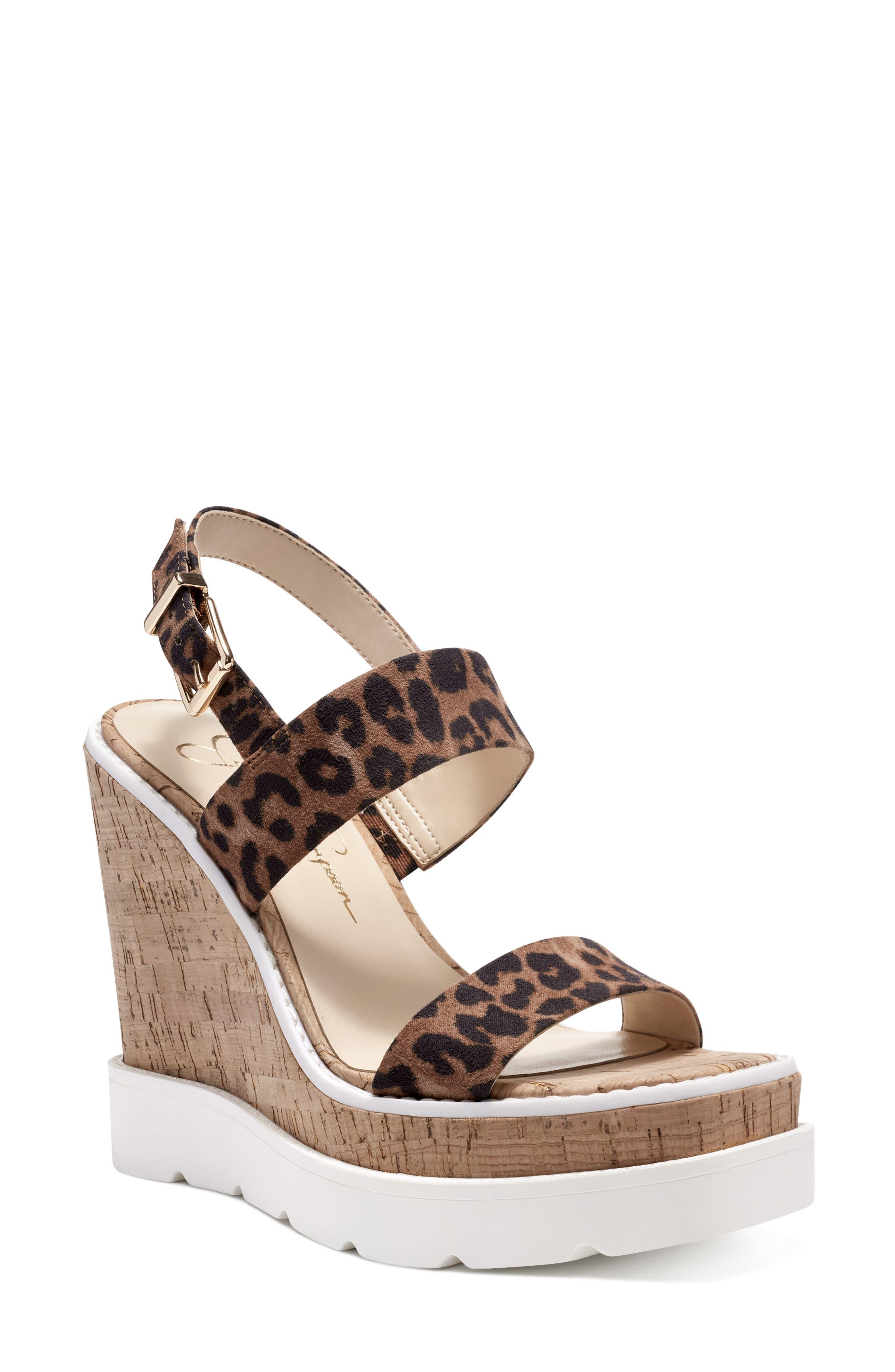 Maede Cork Wedge Sandal