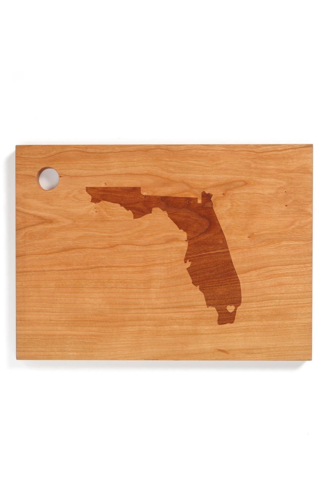 ,                             'State Silhouette' Cutting Board,                             Main thumbnail 9, color,                             208