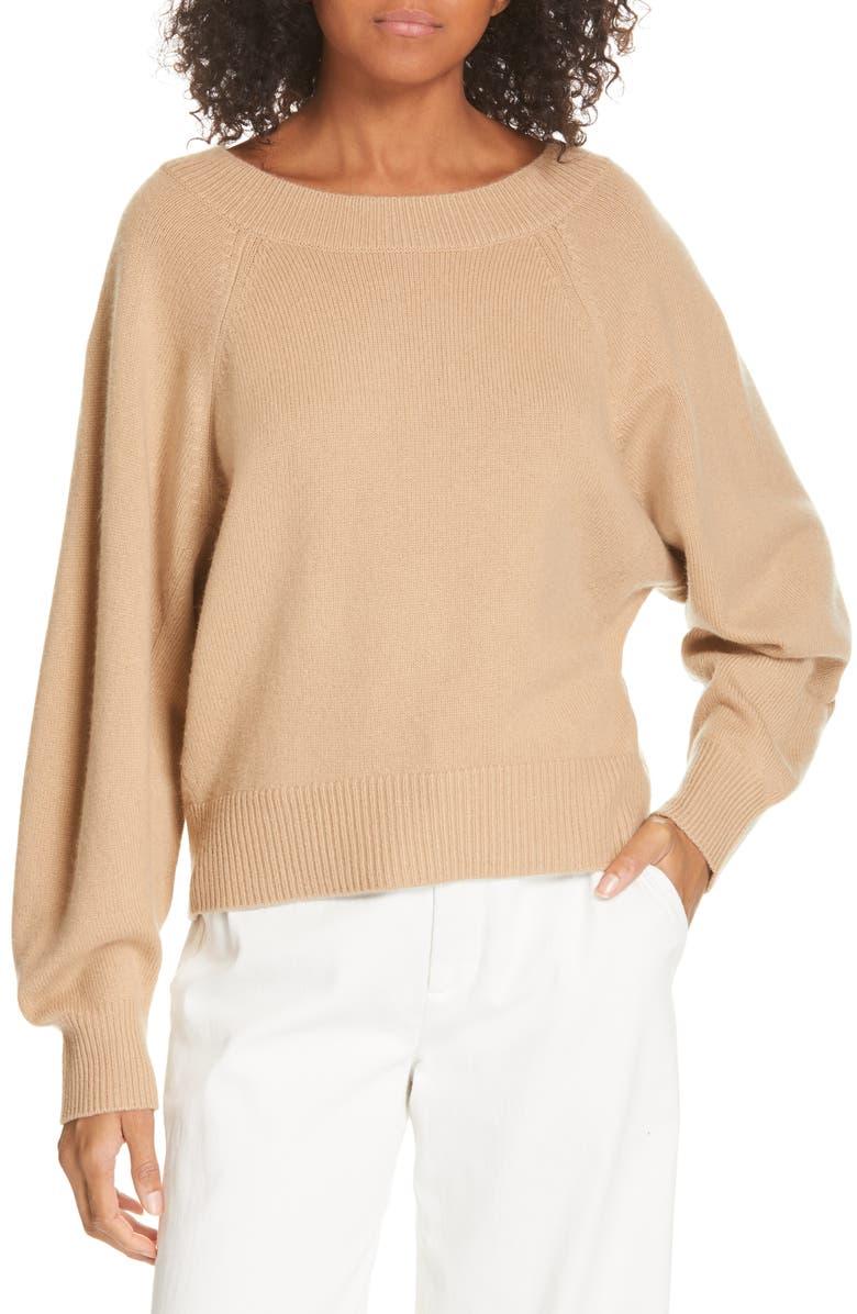 VINCE Raglan Dolman Sleeve Sweater, Main, color, 200