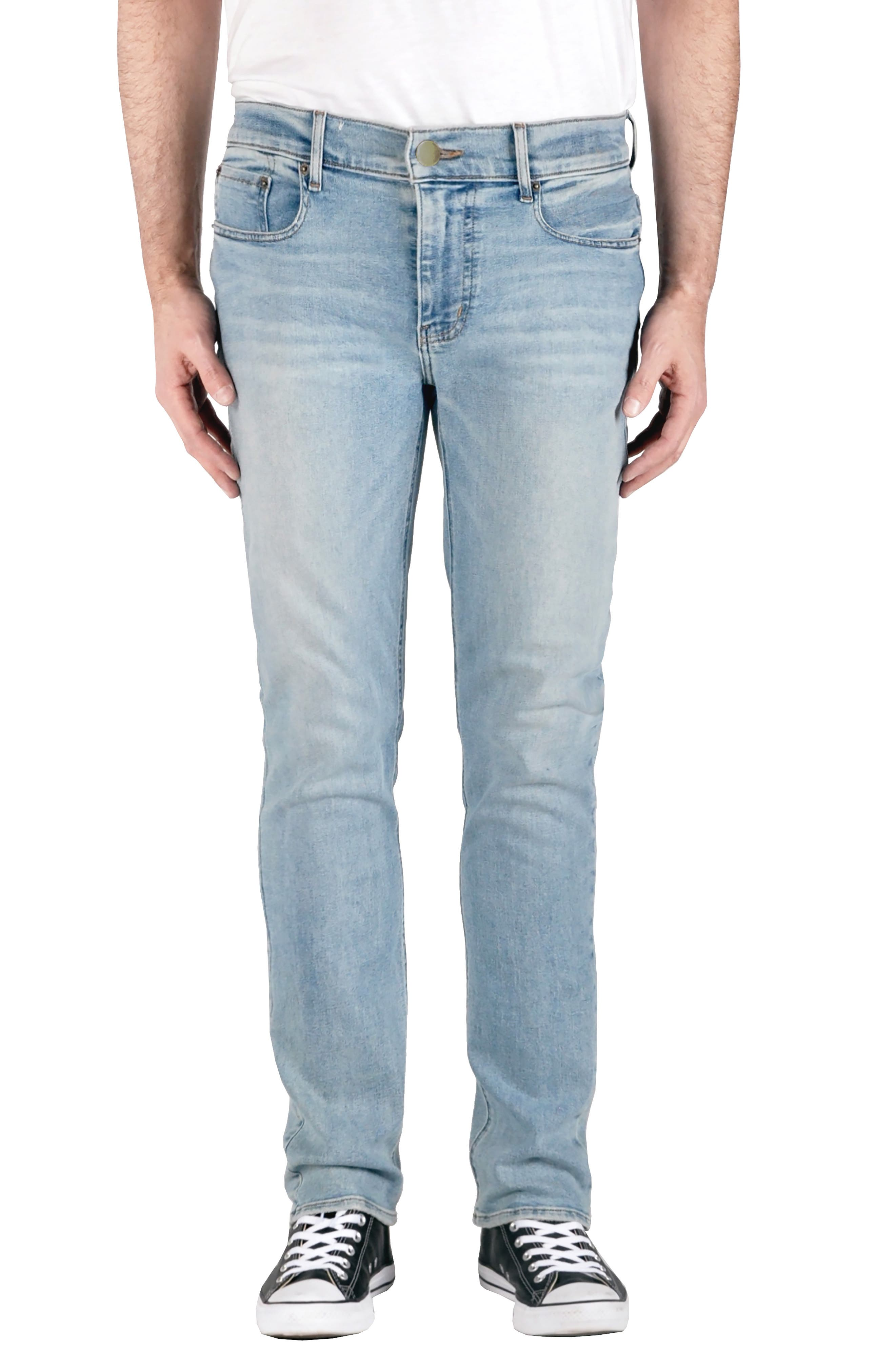 Men's Modern American Ventura Straight Leg Jeans,  38 - Blue