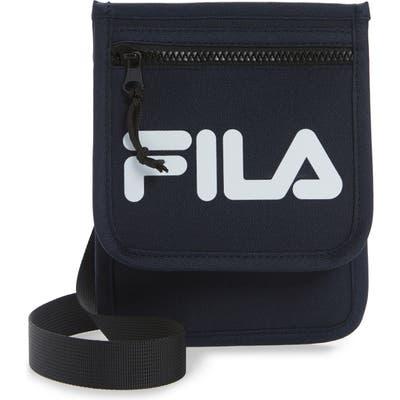 Fila Writer Neck Pouch Crossbody Bag - Blue