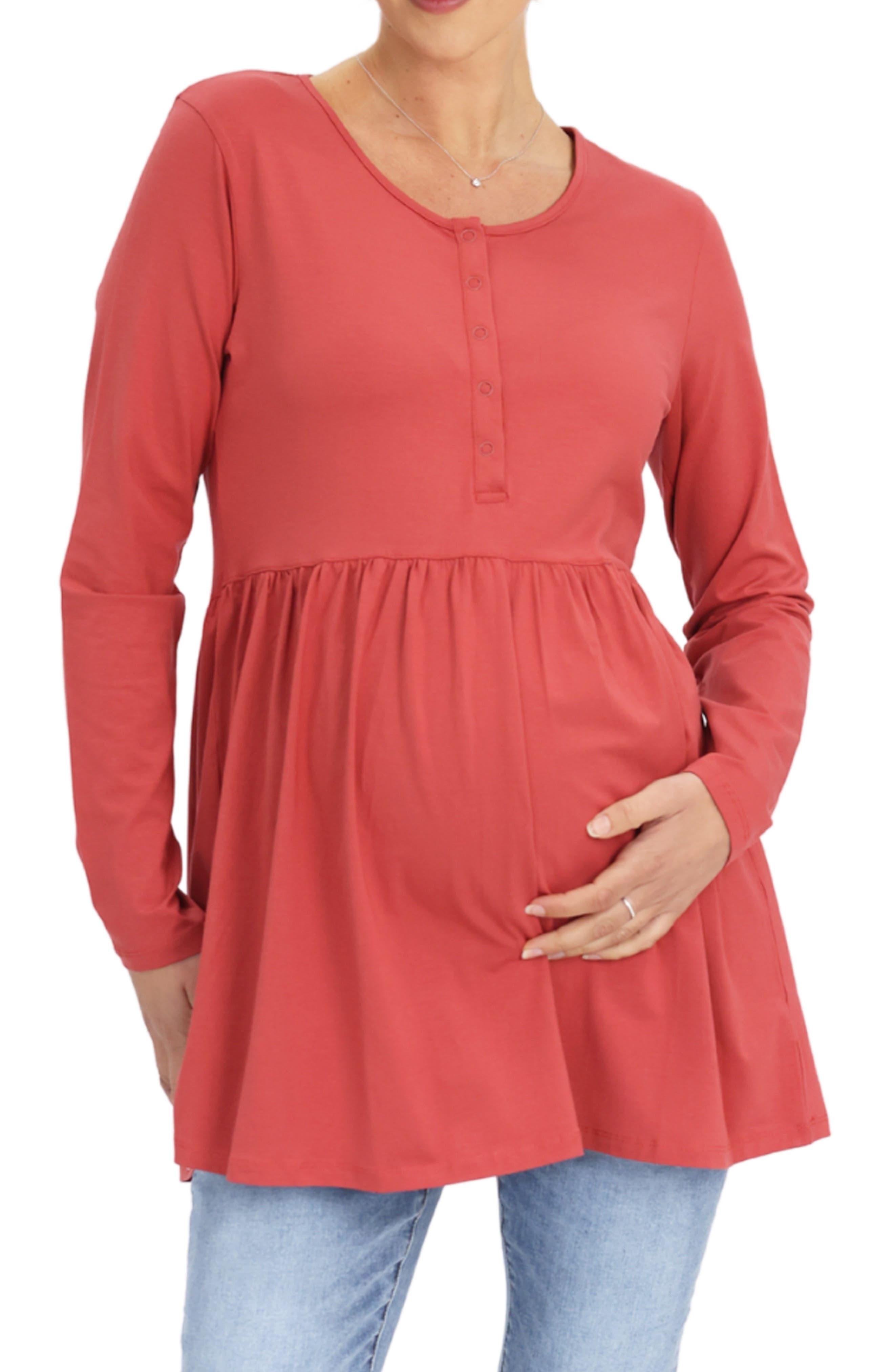 Long Sleeve Maternity Tunic