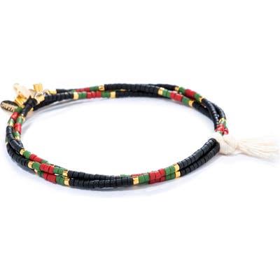 Shashi Set Of 3 Seed Bead Bracelets