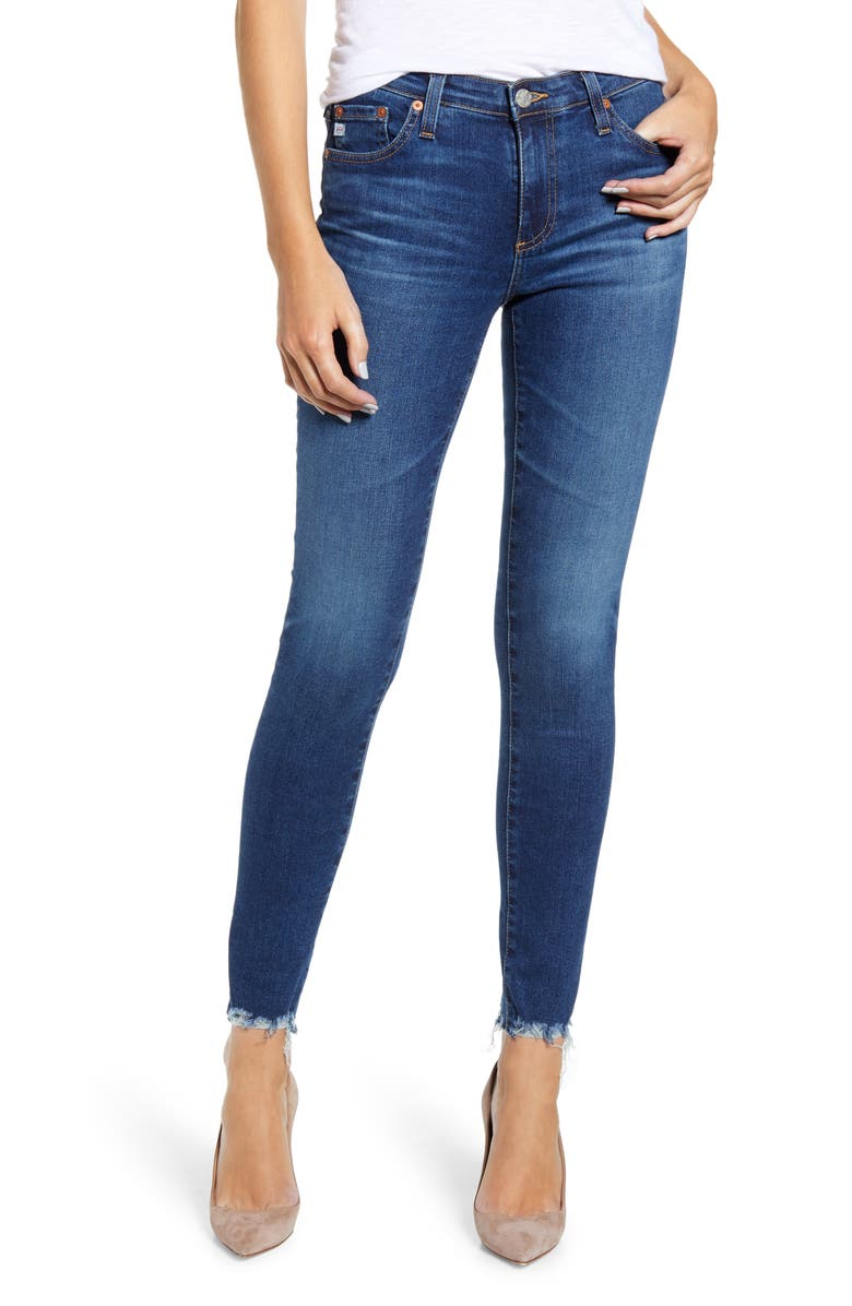 AG The Legging Ankle Super Skinny Jeans, Main, color, 10YRS DEFINED