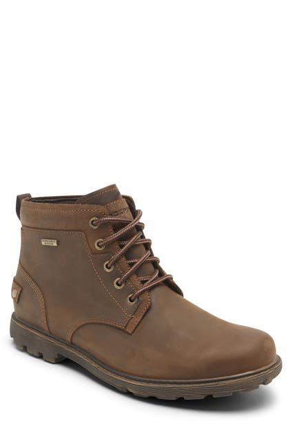 Image of Rockport Boston Leather RGD BUC II Chukka Boot - Wide Width Available