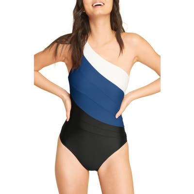 Summersalt The Sidestroke One-Piece Swimsuit, Blue