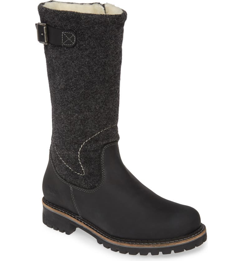 BOS. & CO. Hammond Waterproof Boot, Main, color, BLACK LEATHER