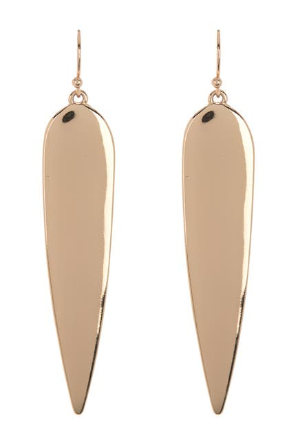 Image of AREA STARS Oval Tear Drop Earrings