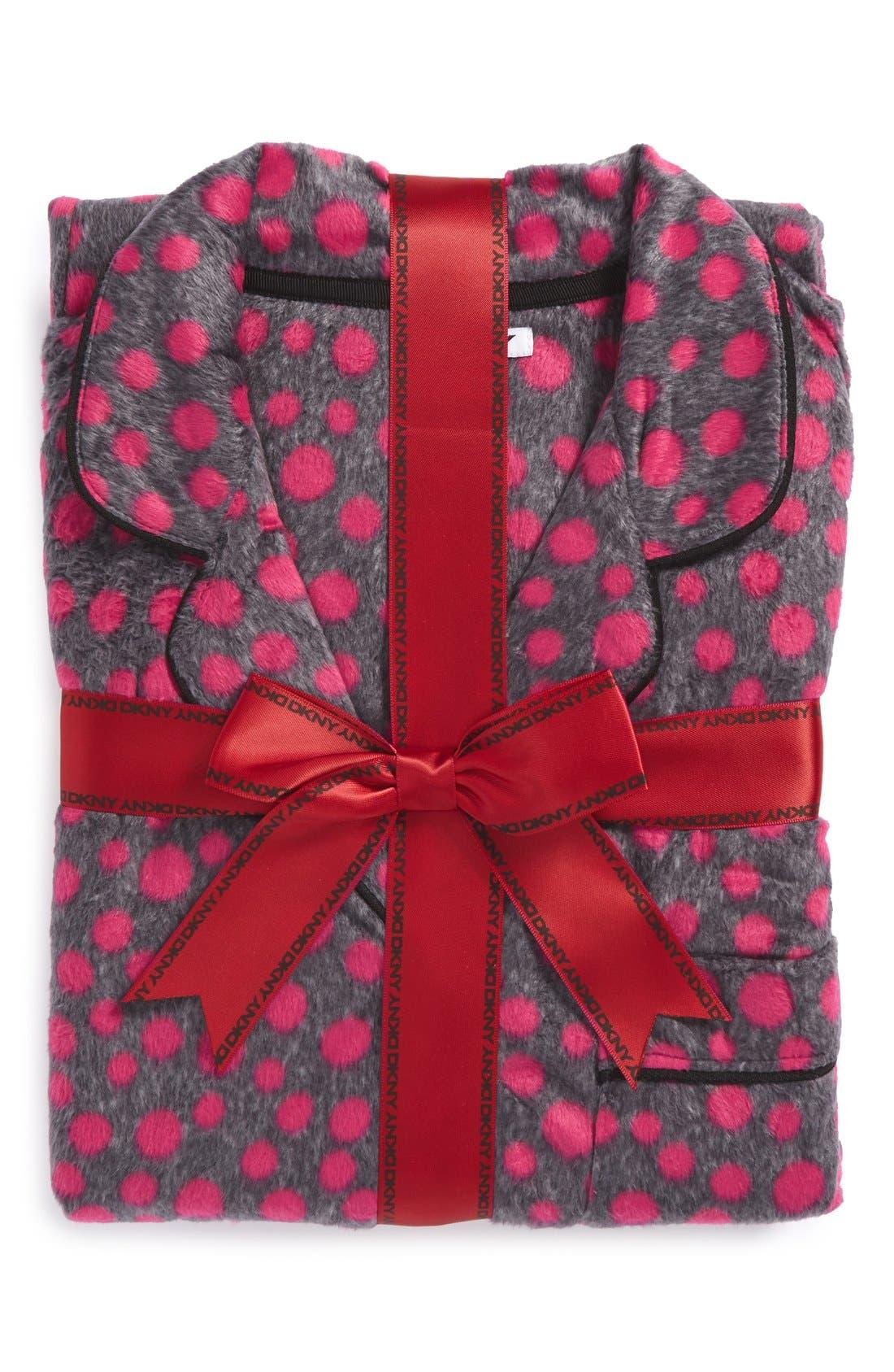,                             Long Sleeve Microfleece Pajamas,                             Main thumbnail 40, color,                             651