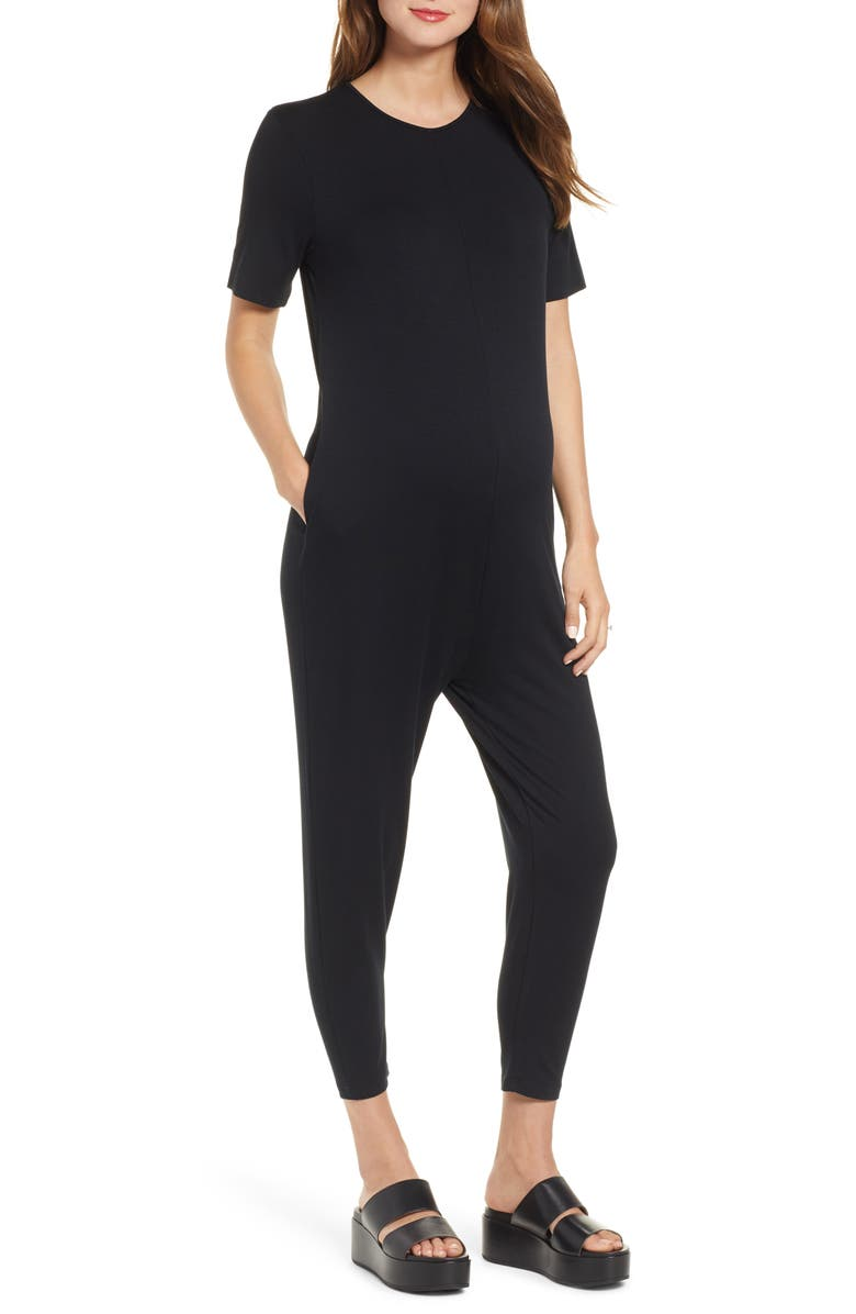 HATCH Walkabout Jumpsuit, Main, color, BLACK