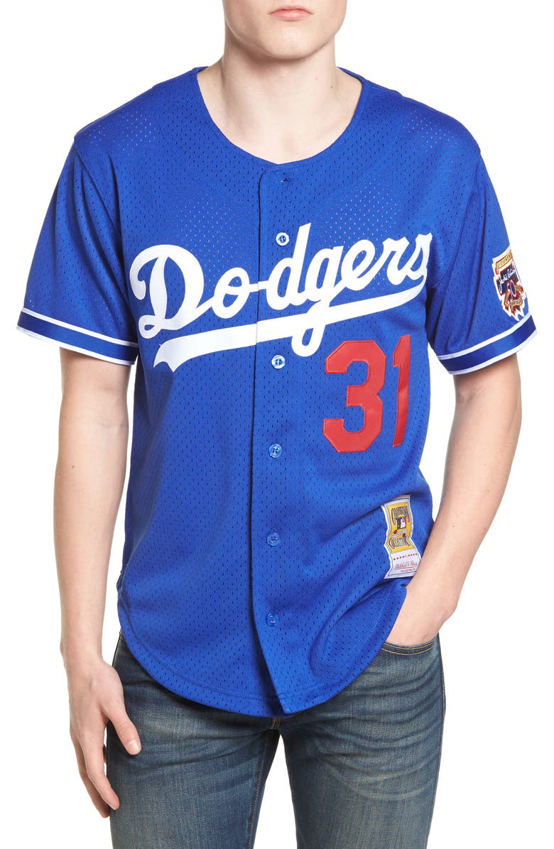 best loved 32da4 e9432 Mitchell & Ness Mike Piazza - Los Angeles Dodgers Authentic ...